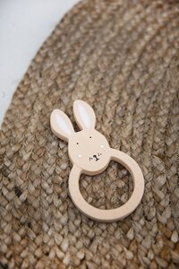 Trixie Bijtring uit natuurrubber Mrs. Rabbit-Afbeelding 1