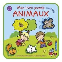Chantecler Livre Mon livre puzzle amusant Animaux