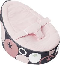 doomoo Pouf Seat Stones pink