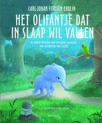 Boek De olifant die in slaap wil vallen