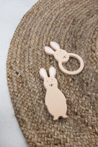 Trixie Bijtring uit natuurrubber Mrs. Rabbit-Afbeelding 2