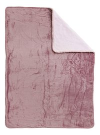 Nattou Deken Iris & Lali supersoft polyester roze-Achteraanzicht