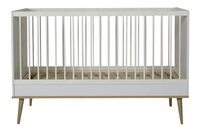 Quax Meegroeibed Flow White/Oak L 140 x B 70 cm-Vooraanzicht