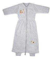 Dreambee Winterslaapzak Ayko fleece softy lichtgrijs 85 cm-Vooraanzicht