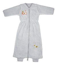 Dreambee Sac de couchage d'hiver Ayko fleece softy gris clair 85 cm-Avant