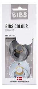 Bibs Sucette 0 - 6 mois iron/baby blue - 2 pièces-Avant