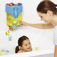 Skip*Hop Opbergnetje Moby Scoop & Splash Bath Top Organizer-Afbeelding 4