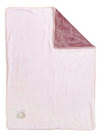 Nattou Deken Iris & Lali supersoft polyester roze-Vooraanzicht