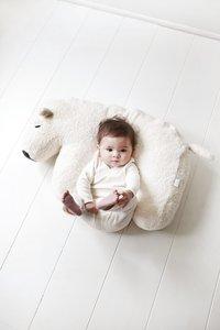 Nanami Coussin d'allaitement Nanook ours polaire off white/écru-Image 1