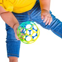 Oball Balle de préhension Classic bleu/vert/jaune-Image 1