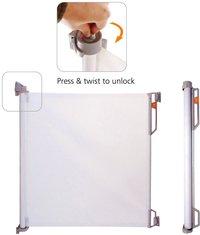 Quax Deur- en traphekje Compact Mesh wit-Vooraanzicht