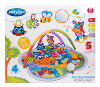 Playgro Speeltapijt Clip Clop Activity Gym with Music-Achteraanzicht