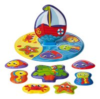 Playgro Badspeelgoed Floaty Boat Bath Puzzle