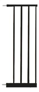 Noma Verlengstuk voor deurhekje 28 cm zwart-Vooraanzicht