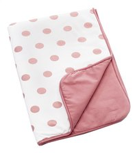 doomoo Deken voor wieg of park Dream Cotton Dots pink jersey