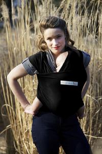 ... Je porte mon bebe Écharpe de portage extensible Basic black-Image 2 ... b478d0bb22f