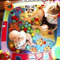 Playgro Ballenbad Pop and Drop Activity Ball Gym-Afbeelding 7