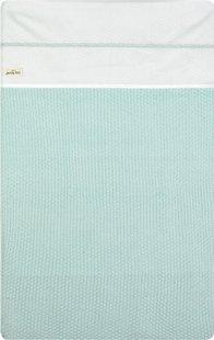 Jollein Laken voor wieg of park Crochet katoen small mint-Artikeldetail