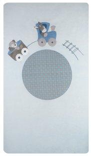 Nattou Housse de couette pour lit Gaston & Cyril polyester/coton Lg 100 x L 140 cm-Avant