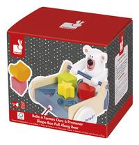 Janod Trieur de formes Zigolos Shape Box Pull Along Bear