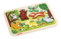 Janod Puzzel Forest Chunky Puzzle-Artikeldetail