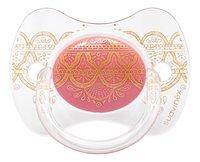 Suavinex Fopspeen 4 - 18 maanden Couture roze-Vooraanzicht