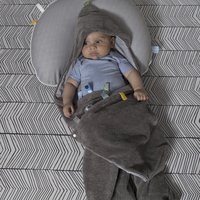 Snoozebaby Couverture enveloppante storm grey-Image 2