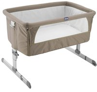 Chicco Berceau Next2Me dove grey-Avant