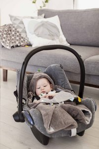 Snoozebaby Couverture enveloppante storm grey-Image 3