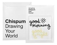 Chispum Muursticker Good Morning Glow-Vooraanzicht