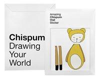 Chispum Sticker mural Bear Fabelab-Avant