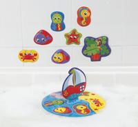 Playgro Badspeelgoed Floaty Boat Bath Puzzle-Afbeelding 1