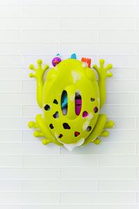 Boon Bac de rangement pour baignoire Frog Pod grenouille-Image 1