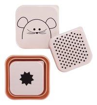 Lässig Boîte à snacks Little Chums Mouse - 3 pièces-Détail de l'article