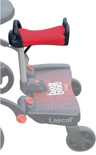 Lascal Assise Saddle pour Buggy Board Maxi rouge