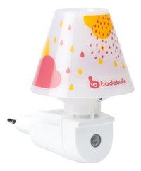 Badabulle Nachtlampje wit/roze-Vooraanzicht