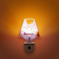 Badabulle Nachtlampje wit/roze-Afbeelding 1