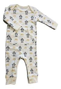 Fresk Pyjama Pinguin wit/antraciet/geel-Artikeldetail