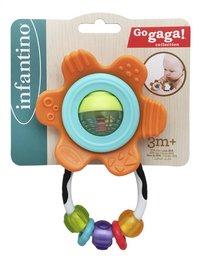 Infantino Jouet de dentition Go Gaga Shake & Teethe Gummy Flower orange-Avant