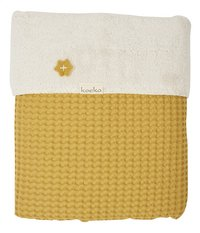 Koeka Couverture pour lit Oslo teddy ocre-commercieel beeld