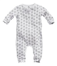 Z8 Pyjama Diamond white grid