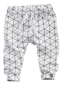 Z8 Broek Snowberry white grid