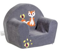 Dreambee Fauteuil pour enfant Ayko taupe