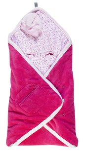 Bemini Couverture enveloppante Lizie pompon-Avant
