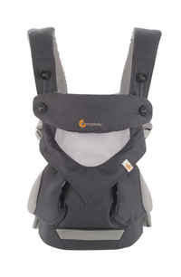 ERGObaby Porte-bébé combiné 360 Cool Air carbon grey