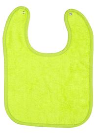 Dreambee Slabbetje Essentials met drukknoppen grijs/lime - 2 stuks-Artikeldetail