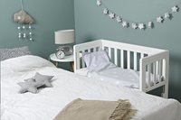 Troll Co-sleeper Loft Bedside Crib wit-Afbeelding 1