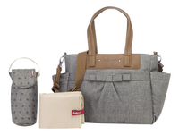 Babymel Verzorgingstas Cara bloom grey-Artikeldetail