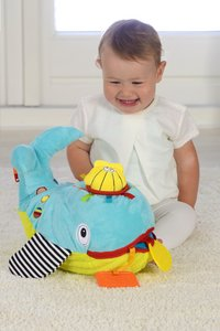 Dolce Peluche Play and Learn baleine 21 cm-Image 2