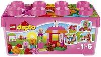 LEGO DUPLO 10571 Alles in één roze doos-Vooraanzicht